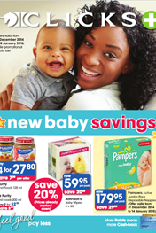 Find Specials || Clicks Baby Specials