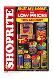 Find Specials || Shoprite Low Prices this January - Northern Cape