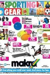 Find Specials || Sporting Gear Specials at Makro