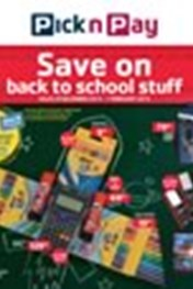 Find Specials || Pick n Pay Back to School Specials