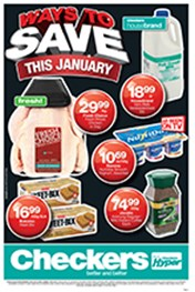 Find Specials || Checkers January Savings - Gauteng