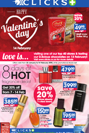 Find Specials || Clicks Valetines Day Specials