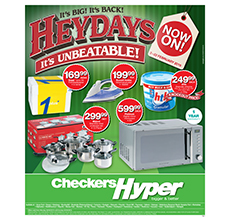 Checkers Hyper Heydays Specials Feb 2 2015 8 00am Feb 22 2015 Find Specials