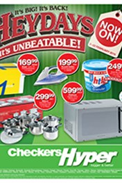 Find Specials || Checkers Hyper Heydays Specials