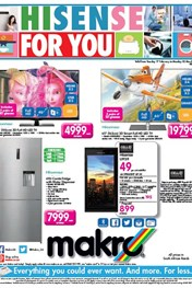 Find Specials || Makro Hisense specials catalogue