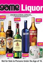 Find Specials || Game Liquor Specials Catalogue