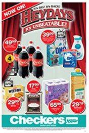 Find Specials || Checkers Heydays Specials - KZN
