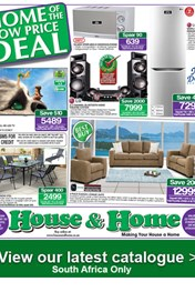 Find Specials || House and Home Weekly Spacials Catalogue