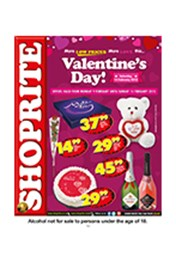 Find Specials || Shoprite Valentine's Specials - Western Cape
