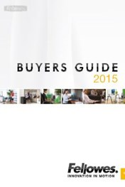 Find Specials || Fellowes Commercial Buyers Guide