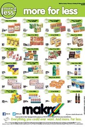 Find Specials || Makro More 4 Less Specials