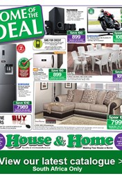Find Specials || House and Home Weekly Specials Catalogue