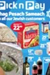 Find Specials || Pick n Pay Chag Pesach Sameach