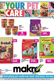 Find Specials || Makro Pet Catalogue