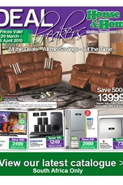 Find Specials || House and Home Deal Breaker Catalogue