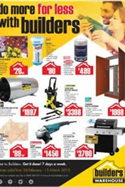 Find Specials || Builders Warehouse Specials Catalogues