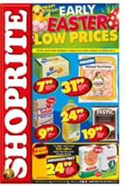 Find Specials || Shoprite Early Easter Specials - Gauteng