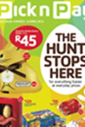 Find Specials || Pick n Pay The Hunt Stops Here Easter Specials