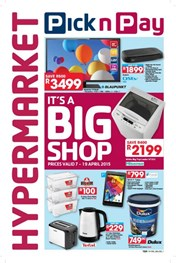 Find Specials || Pick n Pay Hypermarket It's a Big Shop
