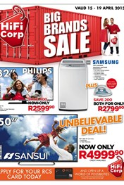 Find Specials || HiFi Corp Weekly Specials Catalogue