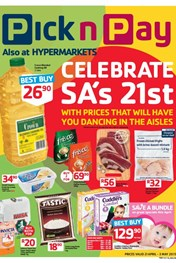 Find Specials || Pick n Pay Celebrate SA's 21st