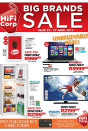 Find Specials || HiFi Corp Big brands sale Catalogue