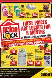 Find Specials || Builders Warehouse Price Lock Offers!