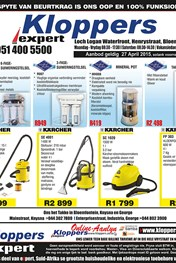 Find Specials || Kloppers Specials