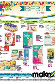Find Specials || Makro Baby Care Promotions