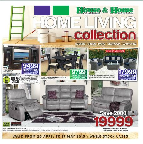Amazing Find Specials || House And Home Furniture Catalogue