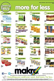Find Specials || Makro More For Less Promotions