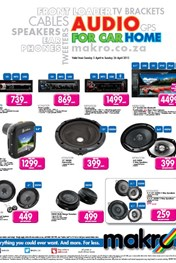 Find Specials || Car Audio Promotions at Makro