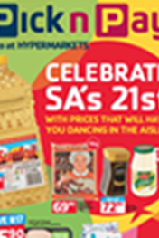 Find Specials || Celebrate SA's 21st Promotions