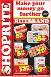 Find Specials || Shoprite Ritebrand Specials - Free State
