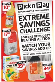 Find Specials || Pick n Pay Extreme Savings Challenge