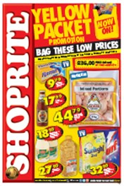 Find Specials || Shoprite Yellow Packet Promotion - Gauteng