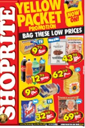 Find Specials || Shoprite Yellow Packet Promotion - KZN