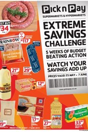 Find Specials || Pick n Pay Take the Extreme Savings Challenge