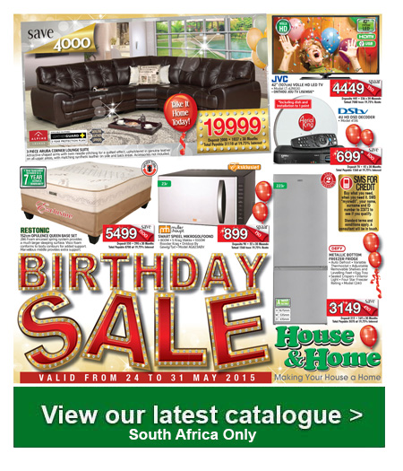 House And Home Furniture Specials May 24 2015 8 00am May 31 2015 Find Specials