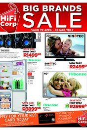 Find Specials || HiFi Corp Specials Catalogue