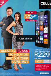 Find Specials || Cell C Monthly Booklet Promotions