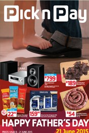 Find Specials || Pick n Pay Father's Day Specials
