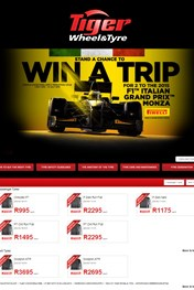 Find Specials || Win a Trip with Tiger Wheel & Tyre