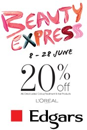 Find Specials || Edgars Beauty Express Sale