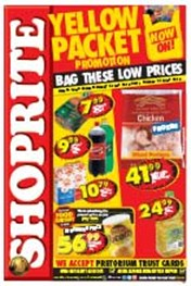 Find Specials || Shoprite Yellow Packet Specials - Gauteng
