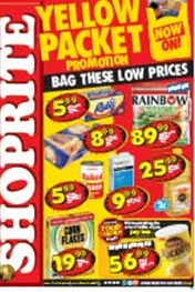 Find Specials || Shoprite Yellow Packet Specials - KZN