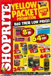 Find Specials || Shoprite Yellow Packet Promotions - NC