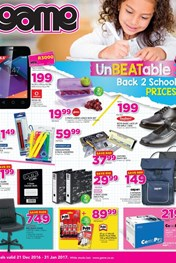 Game Back to school deals
