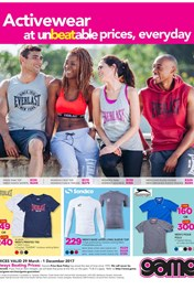 Game Active Wear Specials