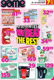 Game Weekly Grocery specials